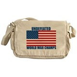 Undefeated World War Champs Messenger Bag