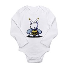Singing Westies Long Sleeve Infant Bodysuit