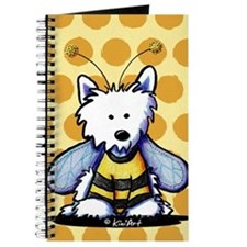 Buzzy Bee Westie Journal