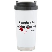 ALARIC Vamp A Day Ceramic Travel Mug
