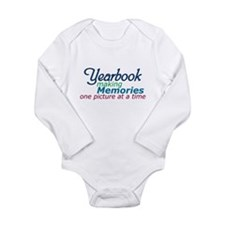 Yearbook Making Memories Long Sleeve Infant Bodysu