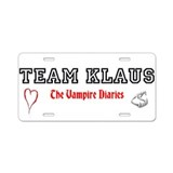 Team KLAUS License Plate