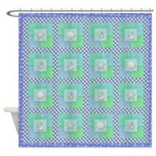 Cute Seascape Shower Curtain