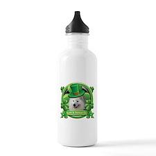 Happy St. Patrick's Day Samoy Water Bottle