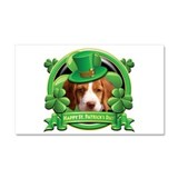 Happy St. Patrick's Day Britt Car Magnet 20 x 12