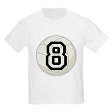 Volleyball Player Number 8 T-Shirt