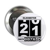 21st Birthday Oldometer 2.25&amp;quot; Button