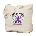 Believe GIST Cancer Tote Bag