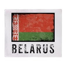 Vintage Belarus Throw Blanket