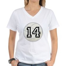 Volleyball Player Number 14 Shirt