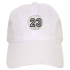Volleyball Player Number 23 Baseball Cap