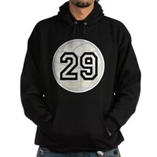 Volleyball Player Number 29 Hoodie