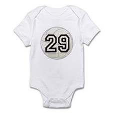 Volleyball Player Number 29 Infant Bodysuit