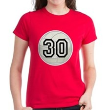 Volleyball Player Number 30 Tee