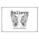 Believe Lung Cancer Banner