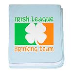 Irish League Drinking Team baby blanket