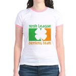 Irish League Drinking Team Jr. Ringer T-Shirt