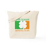 Irish League Drinking Team Tote Bag