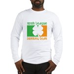 Irish League Drinking Team Long Sleeve T-Shirt