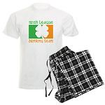 Irish League Drinking Team Men's Light Pajamas