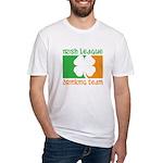Irish League Drinking Team Fitted T-Shirt