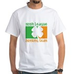 Irish League Drinking Team White T-Shirt