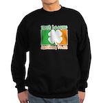 Irish League Drinking Team Sweatshirt (dark)