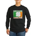 Irish League Drinking Team Long Sleeve Dark T-Shir