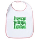 Swear to Drunk Bib