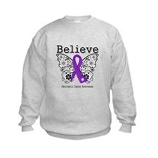 Believe Pancreatic Cancer Sweatshirt