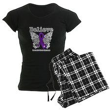 Believe Pancreatic Cancer Pajamas