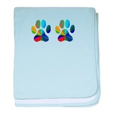 2 PAWS baby blanket