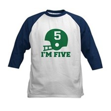 Five Year Old Football Tee