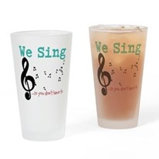Chorus Drinking Glass