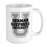 German Shepherd UNIVERSITY Mug
