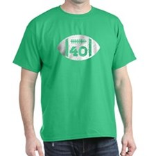 40th Birthday football T-Shirt