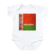 Belarus Grunge Flag Infant Bodysuit