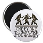 One By One The Sasquatch Magnet
