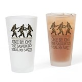 One By One The Sasquatch Drinking Glass