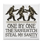 One By One The Sasquatch Tile Coaster