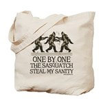 One By One The Sasquatch Tote Bag