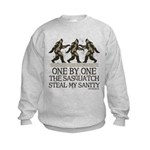 One By One The Sasquatch Kids Sweatshirt