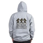 One By One The Sasquatch Zip Hoodie
