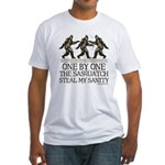 One By One The Sasquatch Fitted T-Shirt