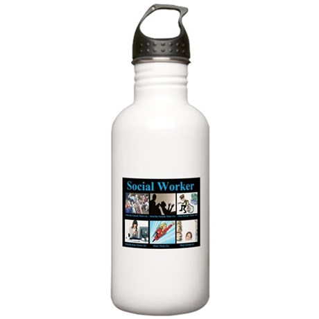 Social Worker Job Stainless Water Bottle 1.0L