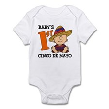 Babys First Cinco De Mayo Infant Bodysuit