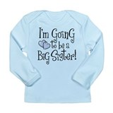 Heart Future Big Sister Long Sleeve Infant T-Shirt