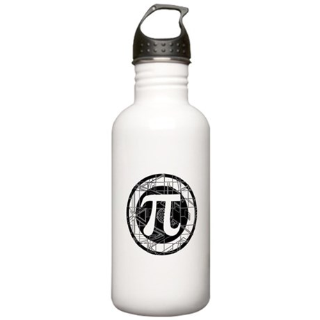Pi Day Symbol Stainless Water Bottle 1.0L
