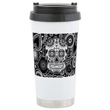 Skull Ceramic Travel Mug