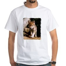 Approaching Wolf Pup Shirt